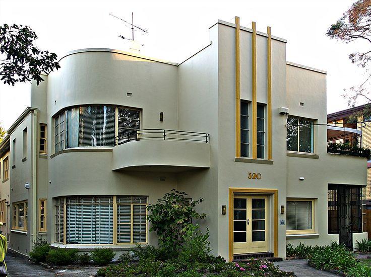 Artdeco House In Melbourne Victoria Australia Urban Design Pinterest St Kilda Art