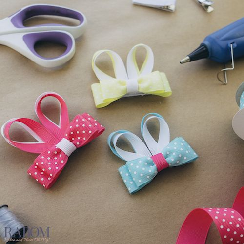 Hair Bow and Ribbon Tutorials | Ribbon And Bows Oh My!