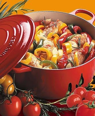 Le Creuset french oven.