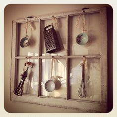 DIY Rustic Decor • Ideas and tutorials, including this old window chalkboard calendar by House of Hoff! Description from pinterest.com. I searched for this on bing.com/images