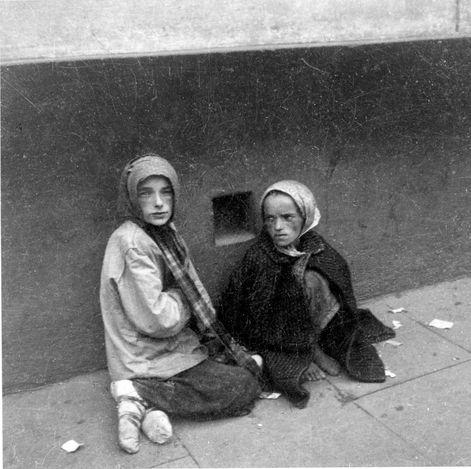 Warsaw ghetto.