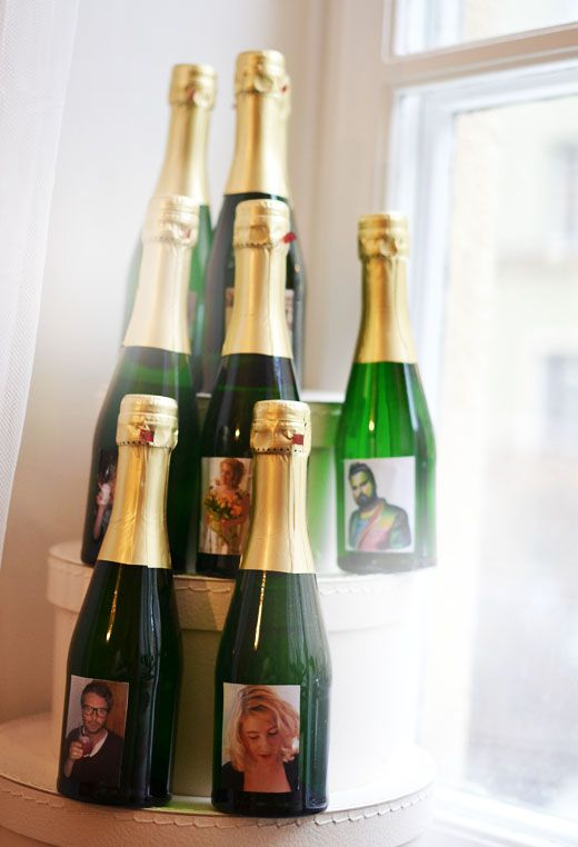 I want to do something like this for a pre-party bachelorette. Classy and trashy.