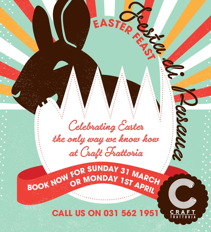 Happy Easter at Craft Trattoria