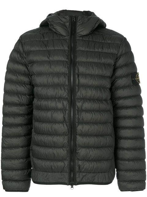 STONE ISLAND hooded padded jacket. #stoneisland #cloth #jacket