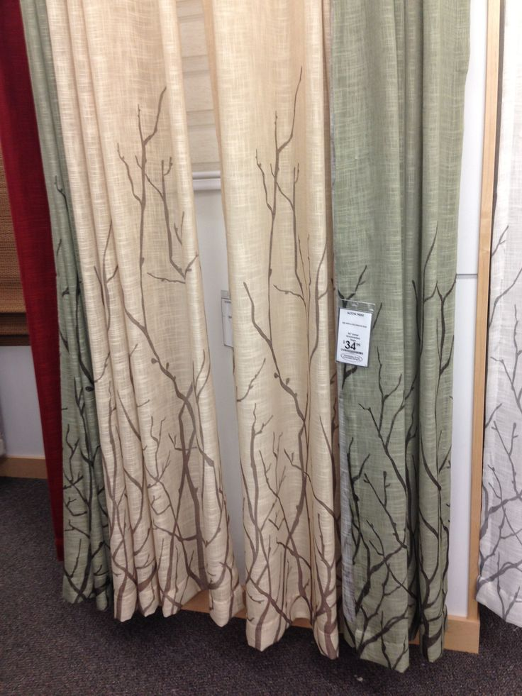 Bed bath and beyond tree curtains nature inspired home Nature inspired shower curtains
