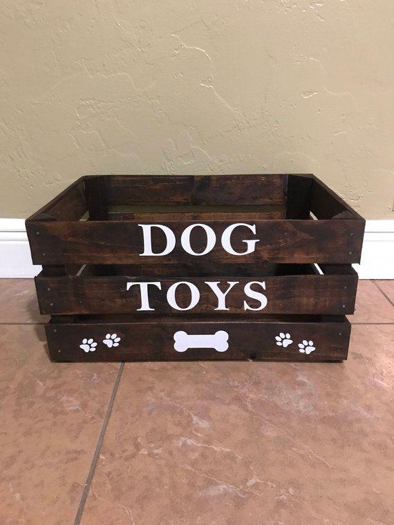 Dog Toy Box Large Dog Toy Box Dog Toys Diy Toy Box