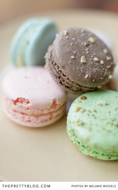 Macarons | Doubleshot Coffee & Tea in Braamfontein | Photographers: Melanie Wessels Photography