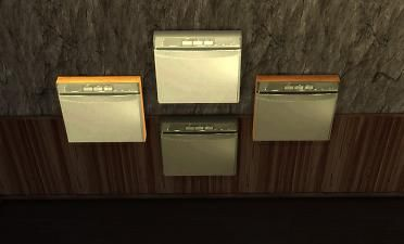 Mod The Sims - sg5150 Wall Trash Compactors