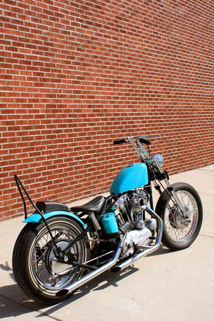 Up in Simi Valley/ Custom Harley-Davidson Ironhead Sportster XLCH
