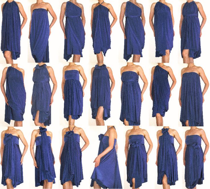 The S Could Wear Same Dress But In Diffe Ways All Grecian