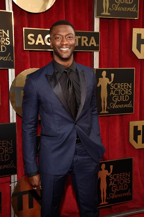 Aldis Hodge #REDCARPET #SAGAWARDS #STYLAMERICAN