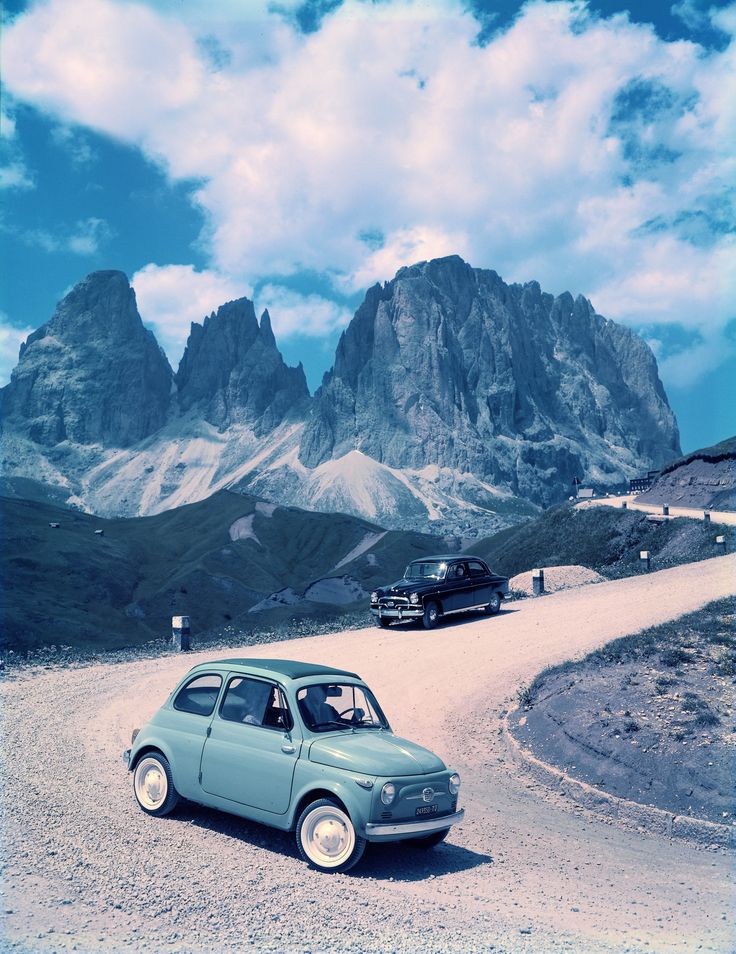 a 1957 Fiat 500, one of my dream cars.