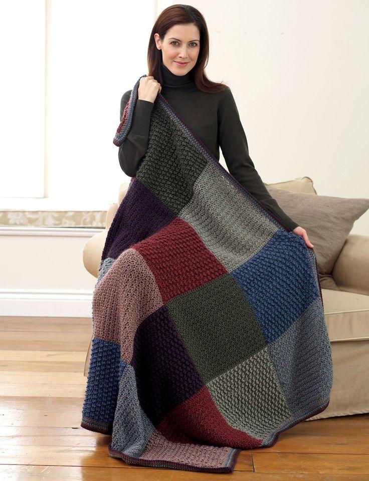Outstanding Bernat Free Knitting Patterns Ideas Decke Stricken