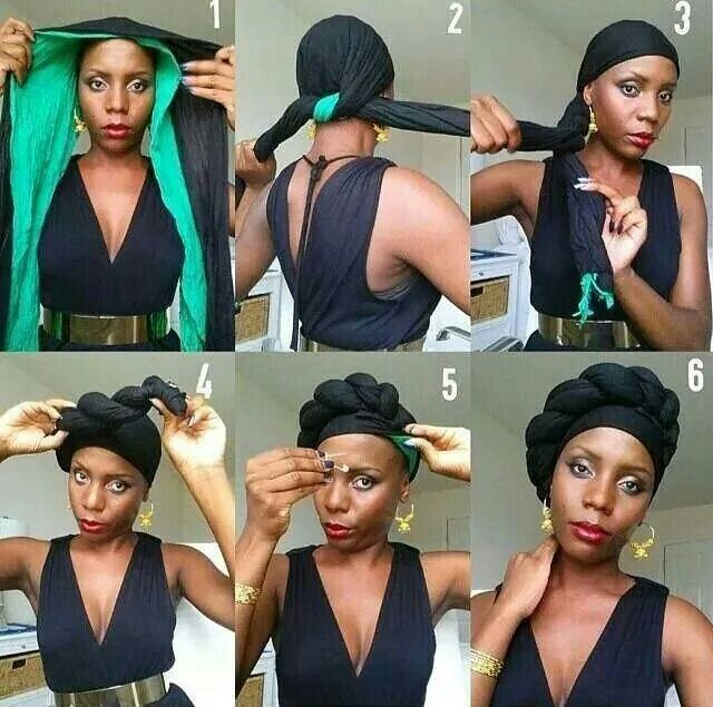 How to do a headwrap