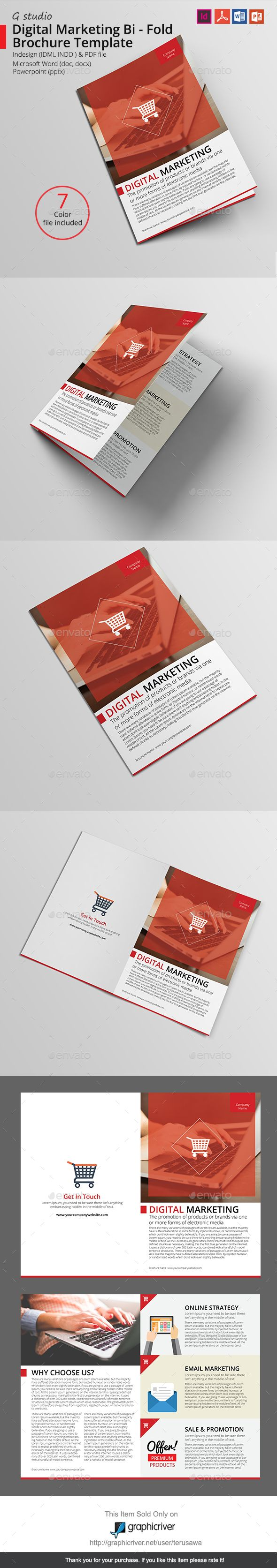 Best Bi Fold Brochure Ideas On Pinterest Tri Fold Brochure - Bi fold brochure template indesign