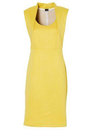La robe, BODYFLIRT, jaune narcisse
