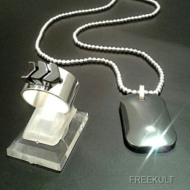 SERGEANT ring  & necklace - www.freekult.com