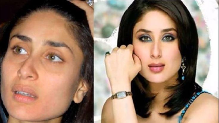 Bollywood Actress without makeup  look