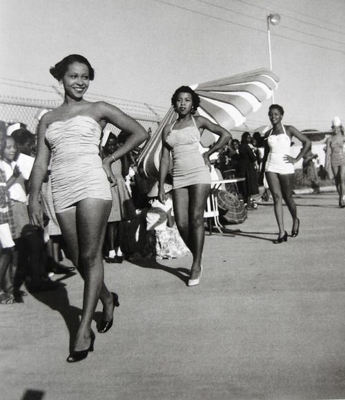 gurls….werk!!! beauty pageant held in the city of greenwood, mississippi (c. 1960)