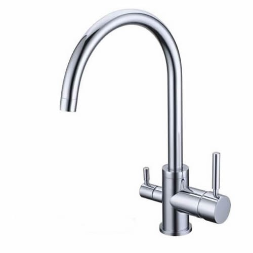 3 Way Kitchen Mixer Tap Pure Water Filter T3306 - One handle for hot/cold.  Other handle for filtered water. $140