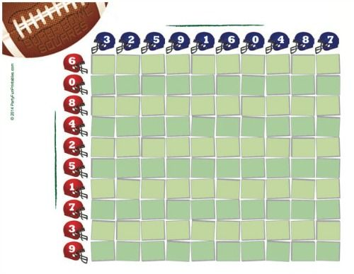 Super Bowl Pools Ideas super bowl pool party sunday lets get wet Free Printable Super Bowl Squares Game For Party And Office Pools