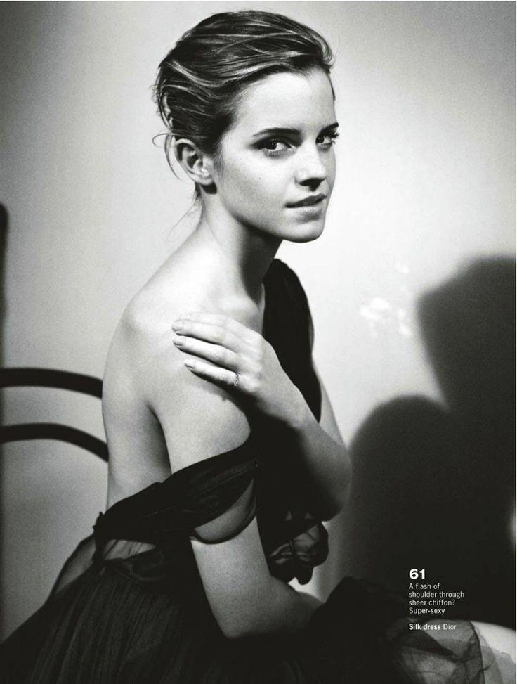 Glamour UK October 2012 | 엠마 왓슨 : 네이버 블로그 Emma Watson in Dior