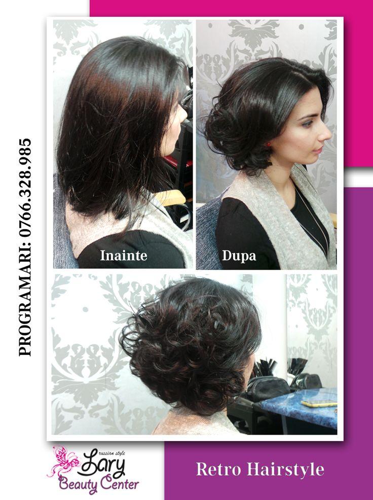 retro hairstyle http://www.larybeautycenter.ro/