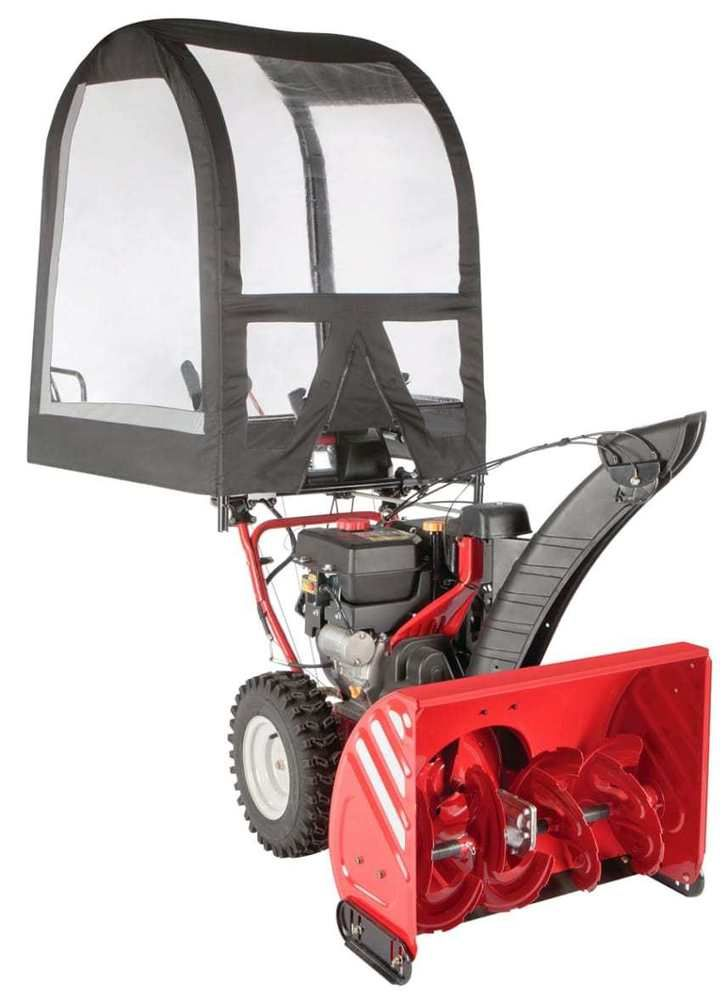 Arnold Deluxe Heavy Duty Universal Snow Thrower Cab Snow Removal Tool outdoor NE #Arnold