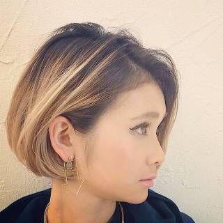 高田 ゆみこさんのヘアカタログ | 大人かわいい,アッシュ,グラデーションカラー,ブルージュ,インナーカラー | 2016.05.17 23.24 - HAIR