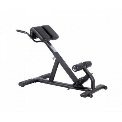 Med Casall Hyper Extension ryggbänk så kan du stärka upp den nedre delen utav ryggen med minimal skaderisk och ergonomiska rörelser.