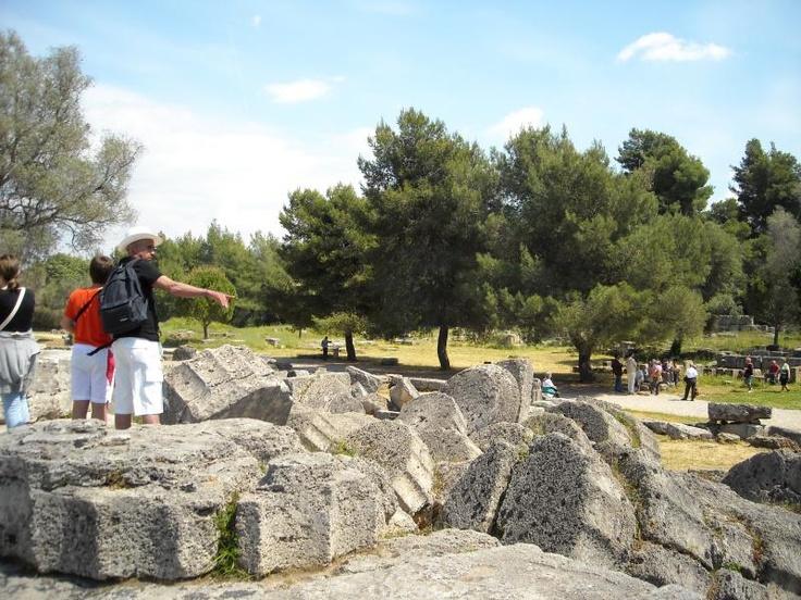 ユーラシア旅行社のギリシャツアーで訪れる古代オリンピア遺跡