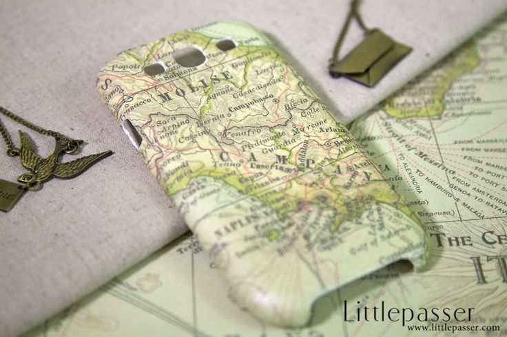 Galaxy S3 Case - Molise Map
