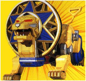 Power Rangers Central - Database - Power Rangers Ninja Storm - Ninja Zords