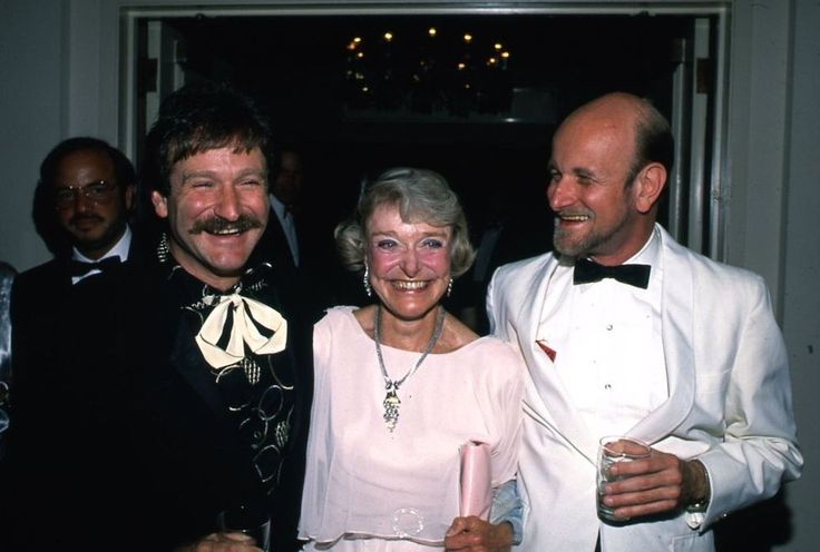 1988 Robin Williams & his mother, Laurie
