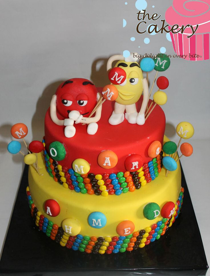 17 Best images about M&M  s cakes on Pinterest M m cake ...