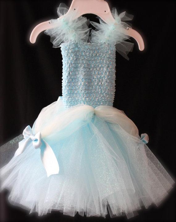 Disney Cinderella :: Baby Tutu Costume for Halloween or Dress Up Pretend Play