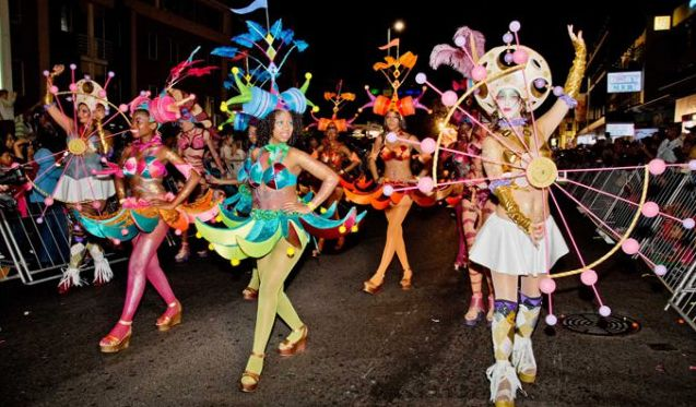 Cape Town Carnival.  Shake your tail feathers and experience all the colours of the rainbow nation at this free street party and parade.  http://www.capetownmagazine.com/events/cape-town-carnival/2016-02-16/11_37_52937