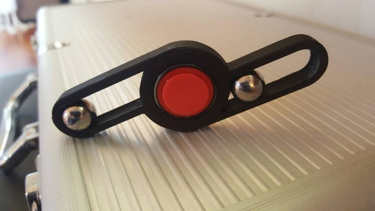 Spinner with steel balls. by Einarsen3D on Etsy