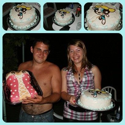Bubbles cake (The Powerpuff Girls) - Puszedli (Pindúr Pandúrok) torta