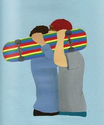 """A revista Vista,bem focada no coredo skate e muito conhecida entre os amantes das rodinhas, trouxe na última edição, uma capa que gerou polêmica. A ilustração, feita por Dealellis, de dois skatistas e beijando e as cores da bandeira gay no shape do skate é o desenho que compõe a edição 50 da revista. O...<br /><a class=""""more-link"""" href=""""https://catracalivre.com.br/geral/agenda/indicacao/capa-de-revista-de-skate-gera-polemica-com-beijo-gay/"""">Continue lendo »</a>"""