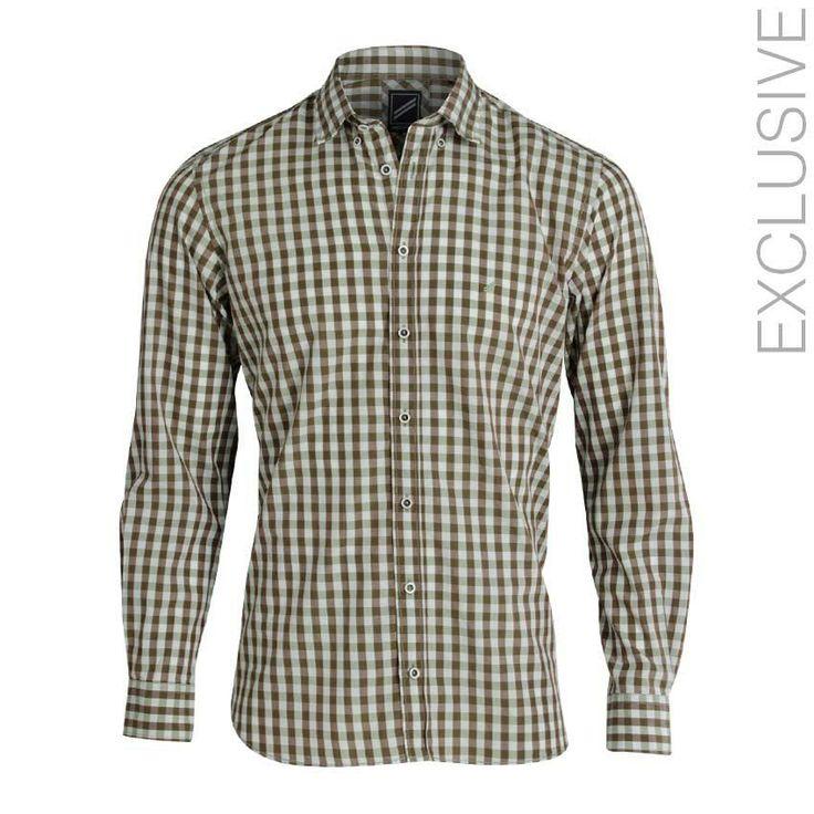 Daniel Hechter Green Cotton Apron Checkered Shirt | اشتري على النت Jumia Egypt