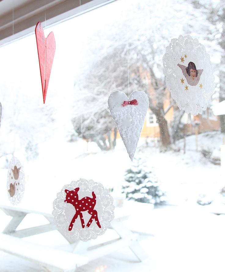 Barbros lille atelier: Superenkel julepynt du kan lage selv