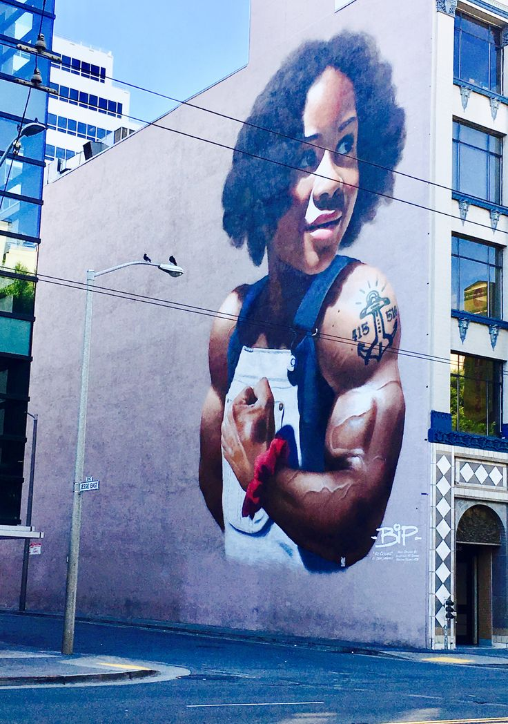 BiP  bipgraffiti.com Anonymous Street Painter  San Francisco CA USA
