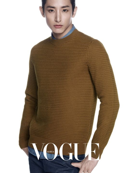 Lee Soo Hyuk - Vogue Magazine September Issue '14