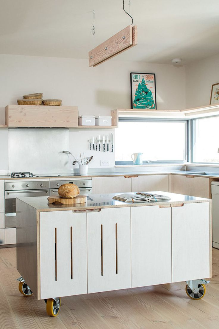 best home ideas kitchen rolling island images on Pinterest