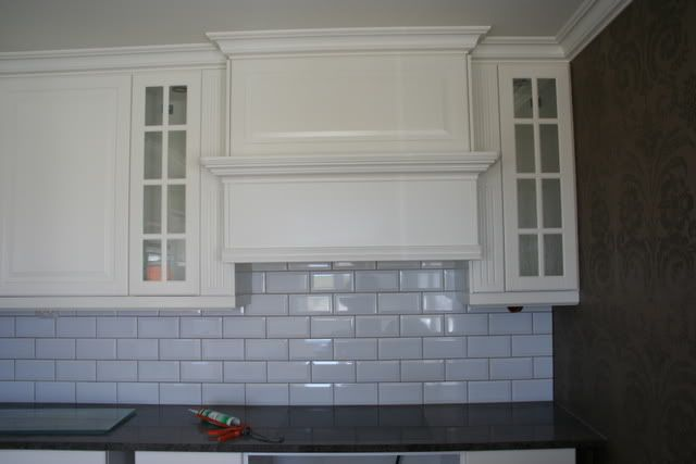 Build Your Own Range Hood Small Upper Cabinet Set 4