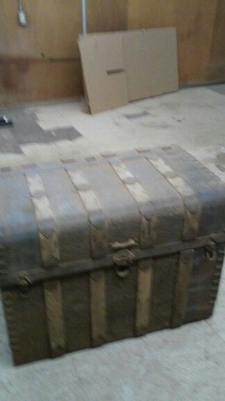 Old trunk redo before