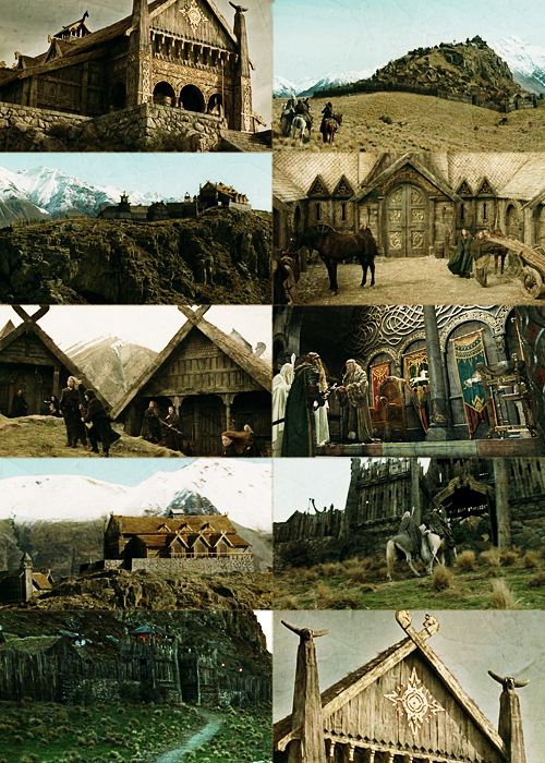 Edoras!  I so wish they hadn't had to tear this set down...it would be so awesome to tour!