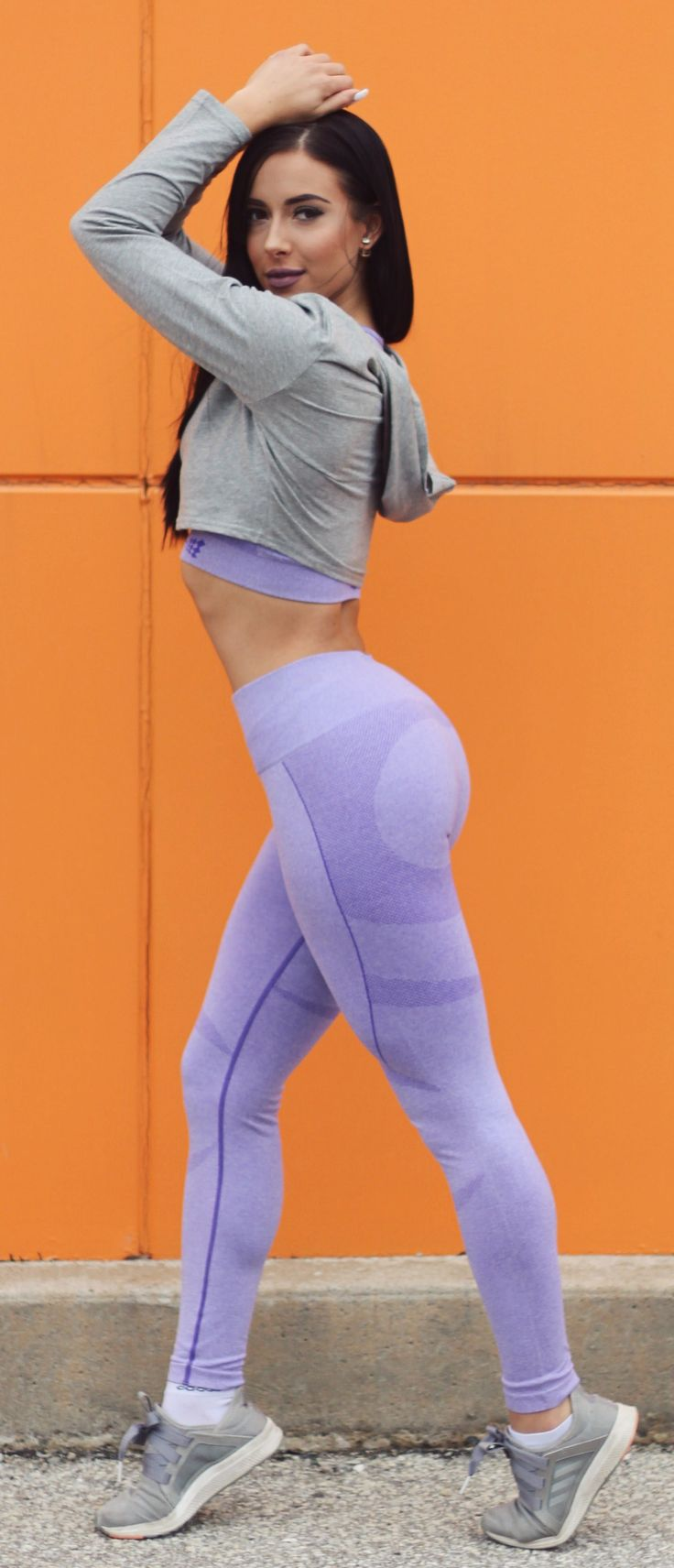 PURPLE supple seamless releasing soon! Head over to our website for the other colors! #Leggings #workoutmotivation #fitnessaparel