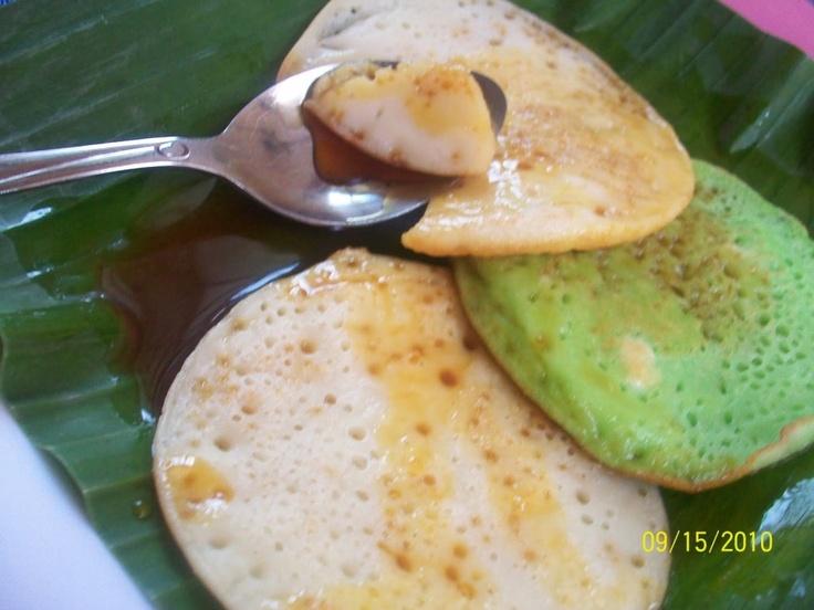 Serabi -- indonesian pancake